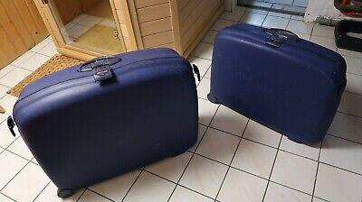 2 Samsonite Koffer, Hartschalenkoffer m. Zahlenschloss und 2 Rollen