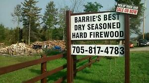 BUY DRY QUALITY HARD FIREWOOD on UR DRIVE NORTH on hwy 27