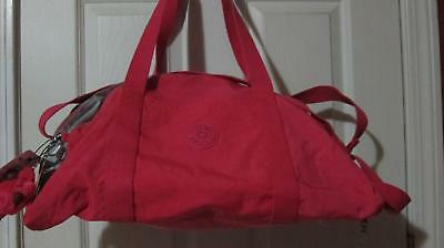 Kipling Active Duffle Bag Vibrant Pink SL4756 New with tag $99
