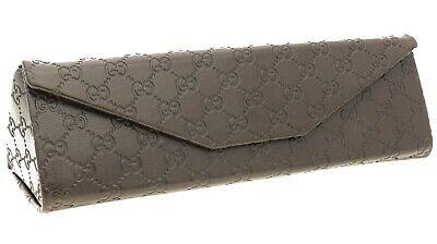 Gucci Glasses Case With Auth. Card (L)15.5cm x (W)5cm x (H)4.5cm Guccissima