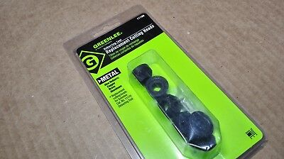 Greenlee 11180 Deburring Tool Replacement Cutting Heads 3 Sets