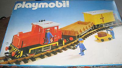 Playmobil LGB 4025 - Güterzug Set mit roter LOK -   OVP + Trafo + 12Gleise