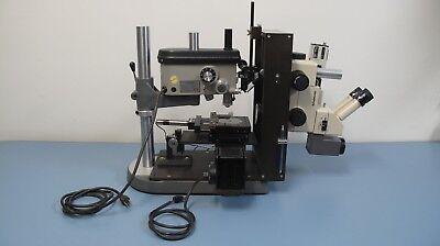 Precision Servo Drill Press System Servo Products With Olympus Szh Microscope