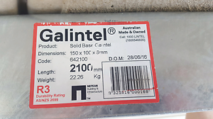 New solid base galintel 150x100x6mm 2100mm length Point Cook Wyndham Area Preview