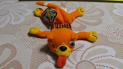 Vintage Bean Bag Plush Toy Meanies Beanie Babies SPLAT the Cat Orange Series 1