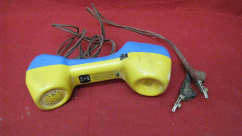 Vintage Harris Dracon Division TS21 Buttset Test Telephone Handset #2