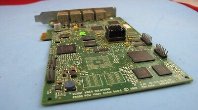 Verint Video Solutions P5000 Pcie Video Codec Board