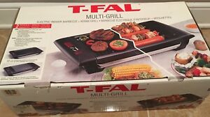 T-Fal counter grill - indoor bbq and kebab grill