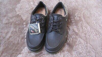 ECCO Track II  Men Low-Cut Black Gore-Tex Boots.Size US 10- 10.5