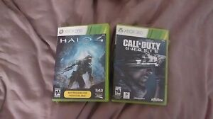 Halo 4 and COD Ghost