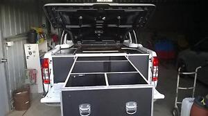 Navara D40 custom made tub toolbox Hillston Carrathool Area Preview