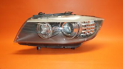 BMW 328 HEADLIGHT LEFT DRIVER 2009 2010 2011 E90 SEDAN BI-XENON 63117202593