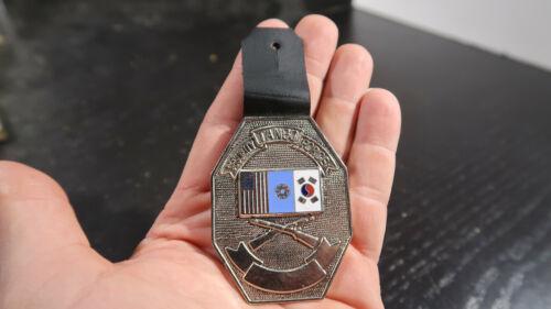 Vietnam War ERA US Army Tango Security Force Hanging Pocket Badge