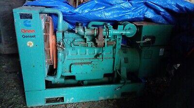 Onan Cummins Turbo Diesel Generator With Auto Transfer Switch 243 Hours