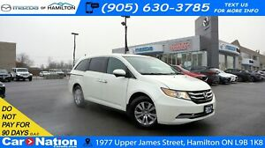 2017 Honda Odyssey EX-L w/RES| LEATHER | SUNROOF | DVD | REAR CA