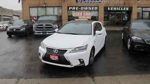 2015 Lexus CT 200h NAVIGATION/FSPORT/SUNROOF