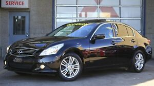 2012 Infiniti G37X AWD Luxury impeccable freins neufs Camera+Cui