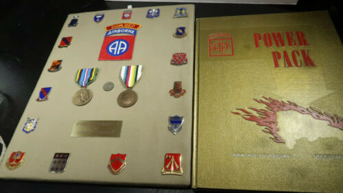 82nd Airborne Division Paratrooper 1965 66 Operation Power Pack Regimental Book