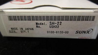 Panasonicsunx Sh-22 Photoelectric Sensor Diffuse Sensing 10 - 50 Hz Led