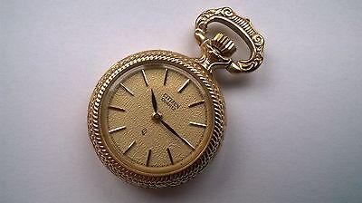CITIZEN - Uhr - Rosenmotiv - Umhänge-Uhr / kleine Taschen-Uhr / Hochzeitsuhr ()