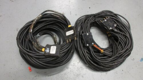 100A 125V 2/3 2 AWG 3 Conductor Stage Pin Bates Cable 100