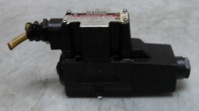 Daikin Solenoid Operated Valve, JSO-G02-4BA-20-4T, 100VAC, Used, WARRANTY