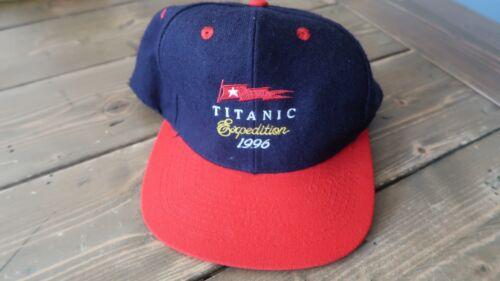 SUPER RARE 1996 Titanic Exploration Expedition Hat