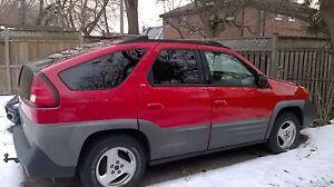 2001 Pontiac Aztek Sport Camping Edition SUV, Crossover