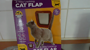 4 way locking cat flap Toowoomba Toowoomba City Preview