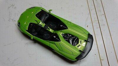AUTOart 74677 LAMBORGHINI AVENTADOR J ROADSTER 1/18 MODEL CAR GREEN USED