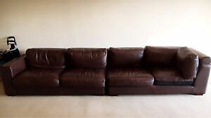 Leather sofa Westmead Parramatta Area Preview
