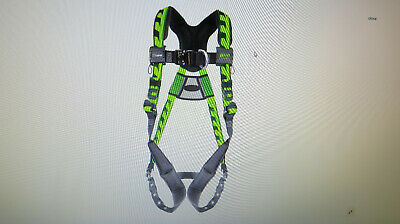 Miller Aircore Full Body Rescue Harness 2xl3lx Front And Back D-rings Tb23xg