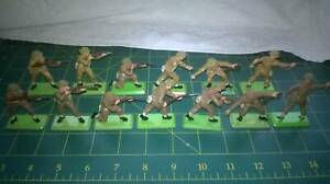 Britains Deetail British Infantry. Standard and early versions.