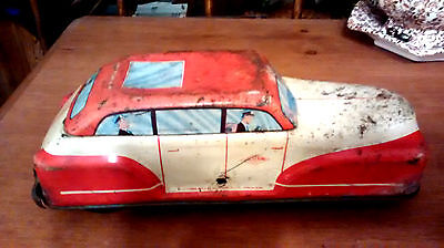 1950s WOLVERINE Friction Dick Tracy Car