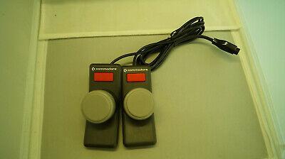 Paddles für VlC 20 COMMODORE Computer für 2 Spieler, mit Anschlusskabel+Stecker