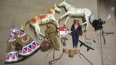 LONE RANGER AND TONTO FROM 1970s TOYS
