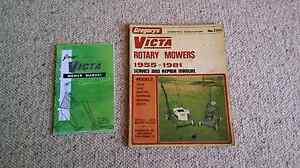 Vintage Victa handbook and workshop manual Tannum Sands Gladstone City Preview