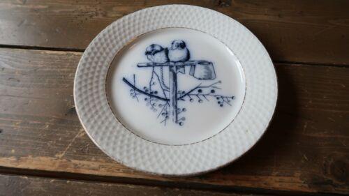 """Antique Petrus Regout Plata Plate 7.25"""""""
