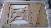 Prusa I3 Reprap Laser Cut Frame Mdf 10mm Versione Rework Piatto 4 Cuscinetti -  - ebay.it
