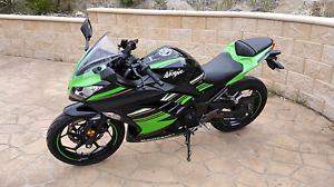 Kawasaki Ninja 300 ABS LAMS Cambridge Clarence Area Preview