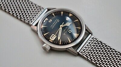 Vintage Omega Seamaster SERVICED Auto Calendar Watch, Hyperactive Lume, 35 mm