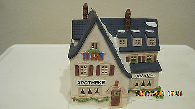 DEPT 56 - ALPINE LOT 3: APOTHEKE - MILCH-KASE - E. STAUBR BACKER