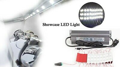 24v Showcase Led Light Module 10ft 20ft 30ft Heavy Duty Power Supply