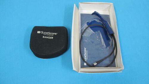 GlideScope Ranger Video Laryngoscope W Reusable Blade 0574-0029 Good Condition
