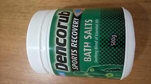 Dencorub Sports Recovery Bath Salts Port Macquarie Port Macquarie City Preview