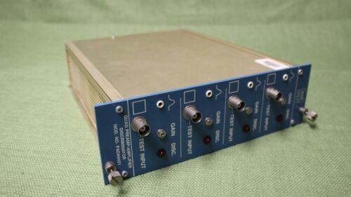 Helgeson Quad Preamp / Amplifer Discriminator Model PADA04014
