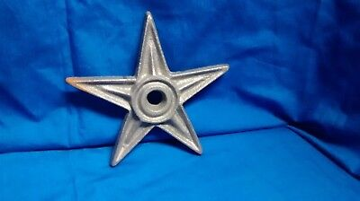 5 Rustic Architectual Stress Washer Candle Star X-Large (size 9
