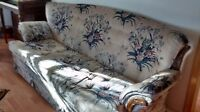Sofa and matching swivel/rocker armchair