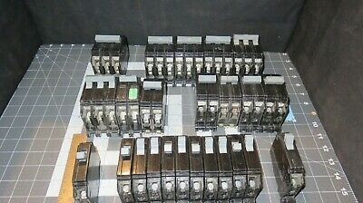 Type Chb Breakers Cutler-hammer 1 -3 Pole 15 To 100 Amp Nos Used