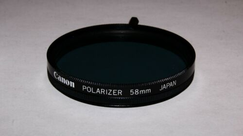 Canon 58mm Polarizing Filter